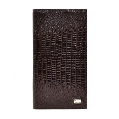 Портмоне кожаное Desisan 111-142 коричневый лазер