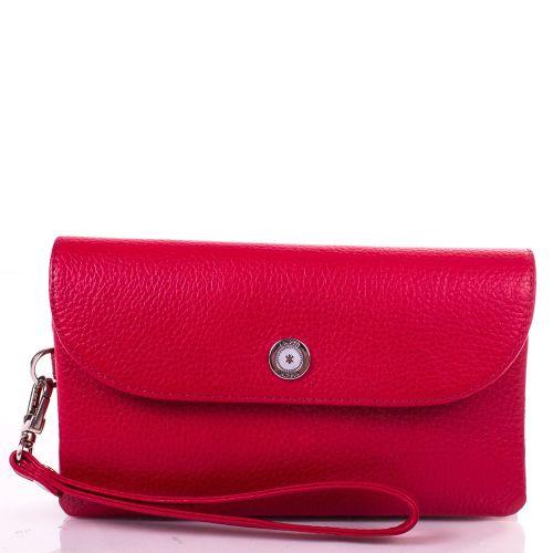 Кошелек женский кожаный KARYA 1121-46 красный флотар