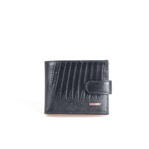 Портмоне кожаное GRASS 302-32 черный лазер