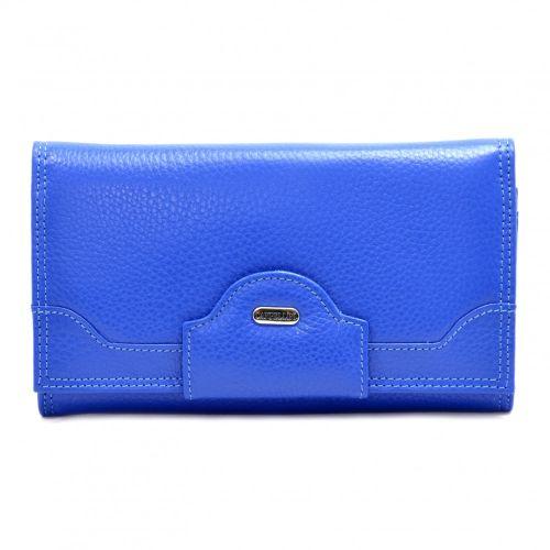 Кошелек женский кожаный CANPEL 2033-304 ярко синий флотар