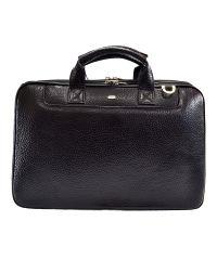 Портфель кожаный Desisan 7007-011 черный флотар