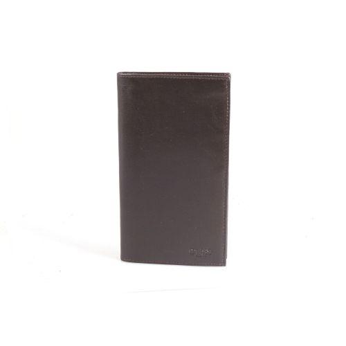 Портмоне кожаное GRASS 404-4 коричневый гладкий