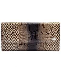 Кошелек женский кожаный Desisan 150-180 бежевый змея