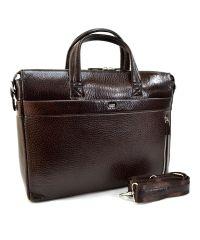 Портфель кожаный Desisan 1335-019 коричневый флотар