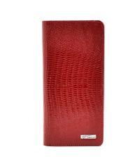 Кошелек женский кожаный Desisan 321-131 красный лазер