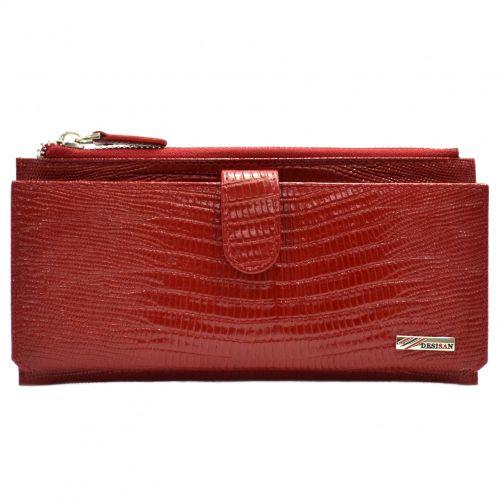 Кошелек женский кожаный Desisan 732-131 красный лазер