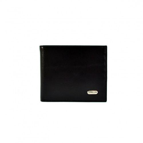 Портмоне кожаное CANPEL 1044-1 черный гладкий