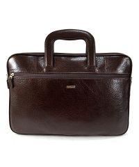 Портфель кожаный Desisan 321-019 коричневый флотар