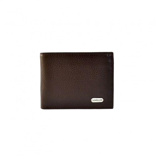 Портмоне кожаное CANPEL 1409-14 коричневый флотар