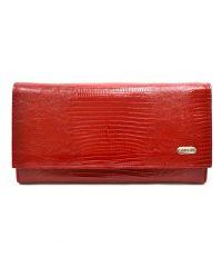 Кошелек женский кожаный CANPEL 2034-15 красный лазер
