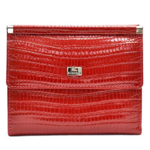 Кошелек женский кожаный Desisan 105-131 красный лазер