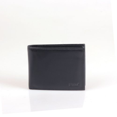 Портмоне кожаное GRASS 301-1 черный гладкий