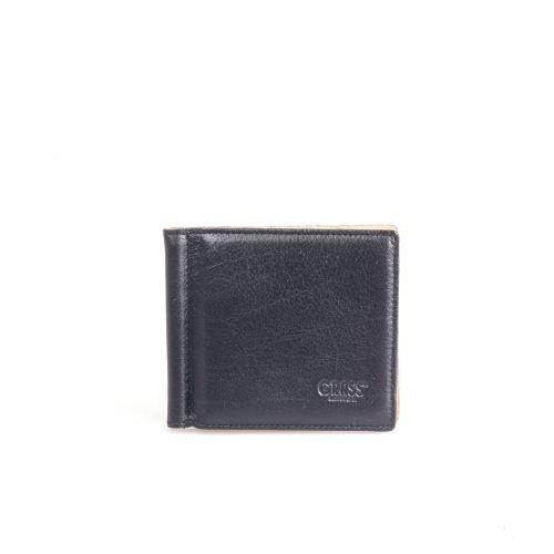 Зажим кожаный GRASS 534-13 черный мелкий флотар