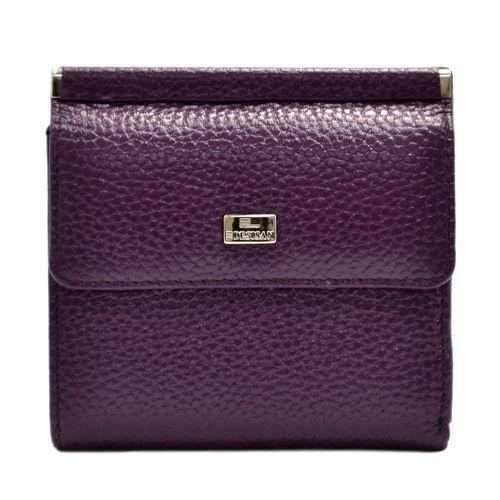 Кошелек женский кожаный Desisan 067-413 фиолетовый флотар