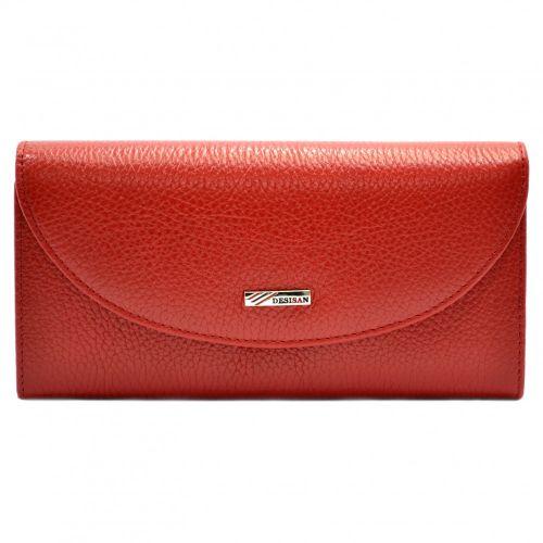 Кошелек женский кожаный Desisan 733-4 красный флотар