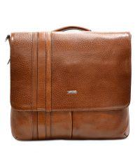 Портфель кожаный Desisan 1337-015 рыжий флотар