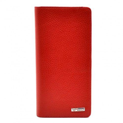 Кошелек женский кожаный Desisan 321-4 красный флотар