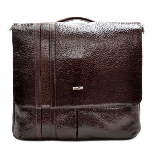 Портфель кожаный Desisan 1337-019 коричневый флотар