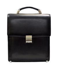 Портфель кожаный Desisan 5009-1 черный гладкий