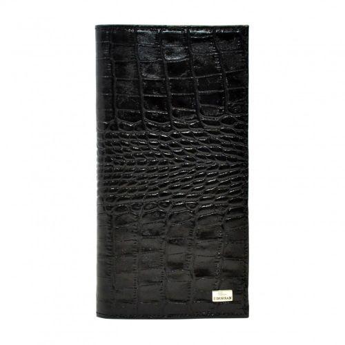 Портмоне кожаное Desisan 111-11 черный кроко