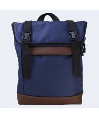 Синий рюкзак Rolltop medium TWINSSTORE Р65