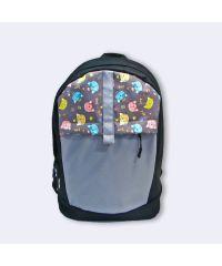 Черный рюкзак с котами Р37
