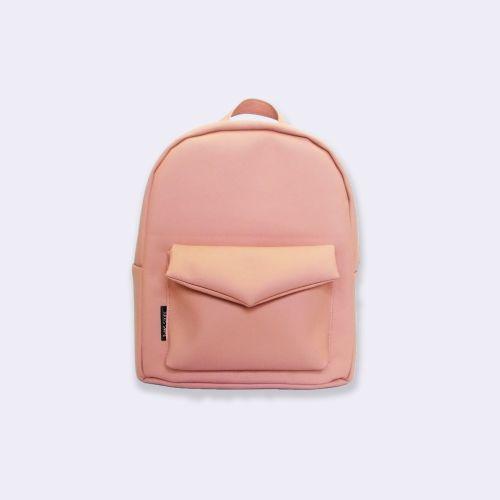 Персиковый рюкзак Р39
