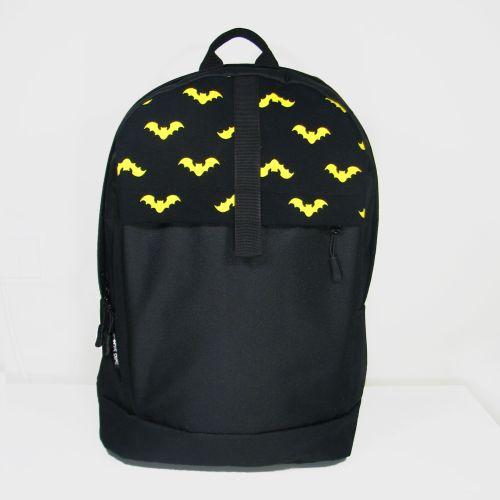 Черный рюкзак с Бэтменом Р1