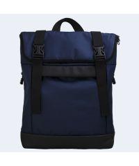 Сине-черный рюкзак Rolltop medium TWINSSTORE Р76
