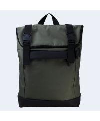Зеленый рюкзак Rolltop medium TWINSSTORE Р66