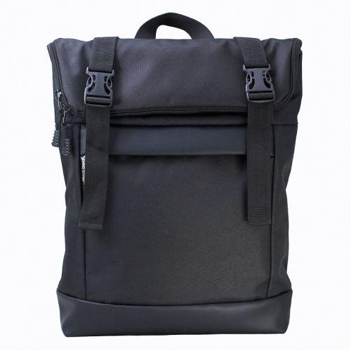 002312029e0a Черный рюкзак Rolltop medium TWINSSTORE Р67 купить в Киеве недорого ...