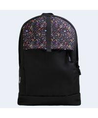 Черный рюкзак с цветными фигурами TWINSSTORE Р77
