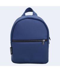 Синий кожаный рюкзак small TWINSSTORE Р59