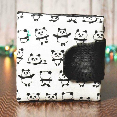 Кошелек с пандами TWINSSTORE К7