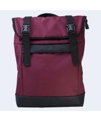 Бордовый рюкзак Rolltop medium TWINSSTORE Р64