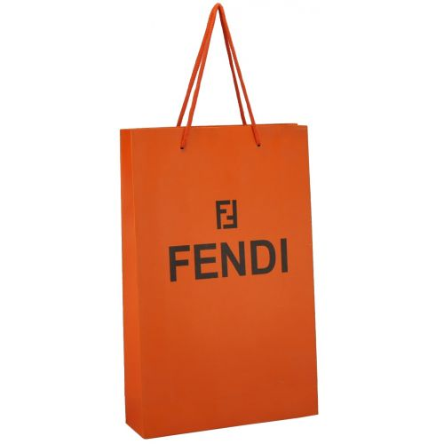 Подарочный пакет Fendi Medium оранжевый
