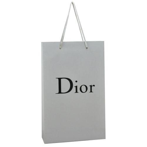 Подарочный пакет Dior Medium белый