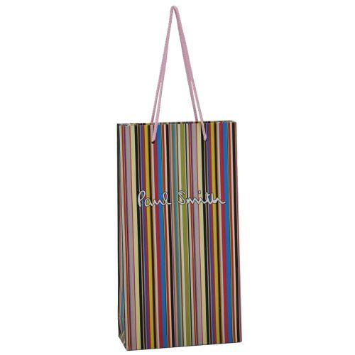 Подарочный пакет Paul Smith Mini полосатый