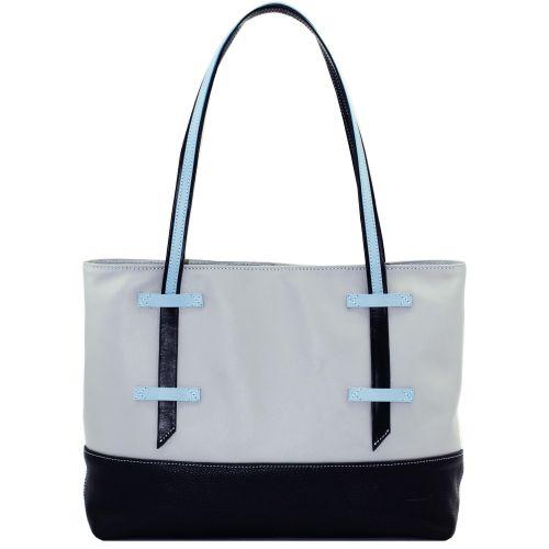 Женская кожаная сумка VATTO W1.1 Sp3Fl8 серая