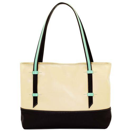 Женская кожаная сумка VATTO W1.1 Sp4Fl3 бежевая