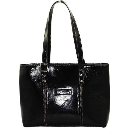 Женская кожаная сумка VATTO Wk1 Napl 1 черная