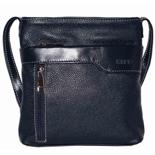Женская кожаная сумка VATTO Wk13 Fl1N4 синяя