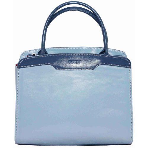 Женская кожаная сумка VATTO Wk15 N7.2 голубая