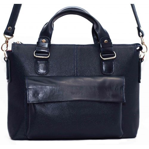 Женская кожаная сумка VATTO Wk20Fl1.N4 синяя