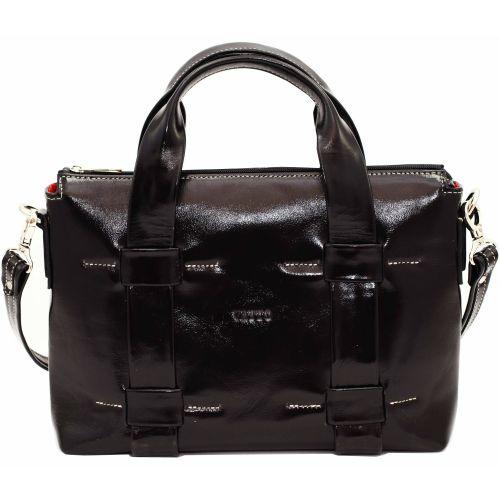Женская кожаная сумка VATTO Wk22 Napl1 черная