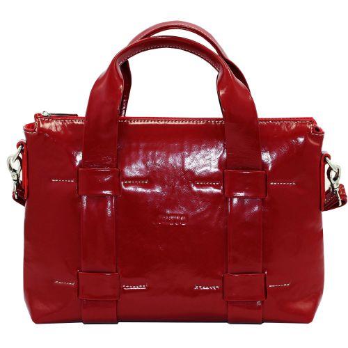 Женская кожаная сумка VATTO Wk22 Napl3 красная