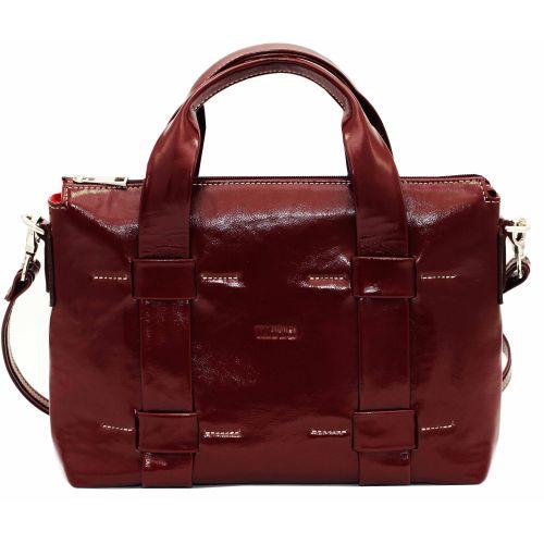Женская кожаная сумка VATTO Wk22 Napl4 бордовая