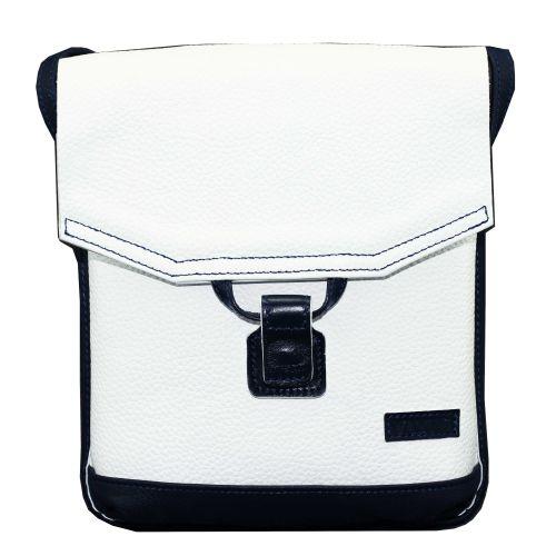 Женская кожаная сумка Wk29 Fl6.2 белая