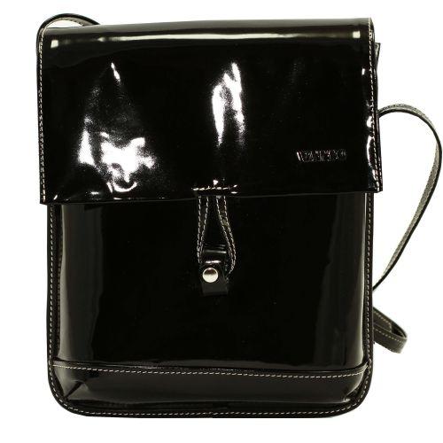 Женская кожаная сумка Wk29 L1 черная