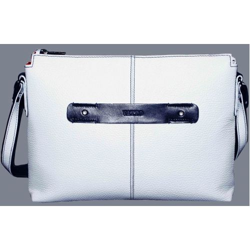 Женская кожаная сумка Wk31 Fl6N4 белая
